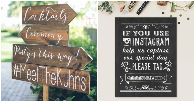 8 tips on how to get your Wedding Hashtag right!