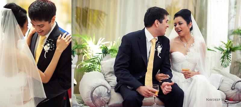 Shekhar  & Juliet Mumbai : Gorgeous Catholic Wedding with Grey and Yellow Accents