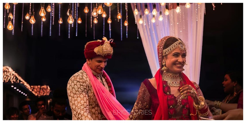 "Prince Narula and Yuvika Chaudhary recently said, ""I do"