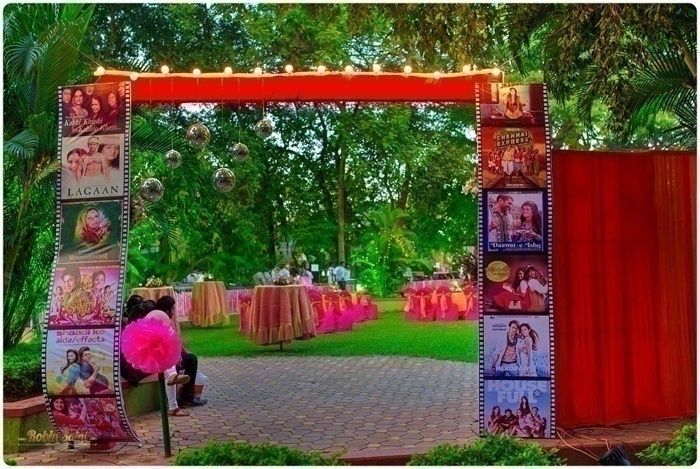 Bollywood Filmstrip Entrance