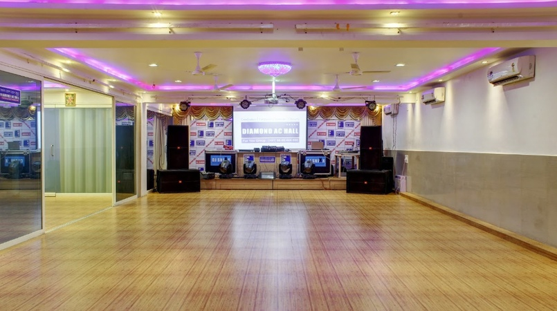 a photo of Diamond AC Hall