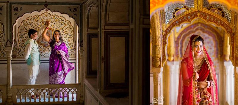 Rudro  & Dipika Jaipur : Cross-Cultural Destination Wedding held at Chomu Palace, Jaipur