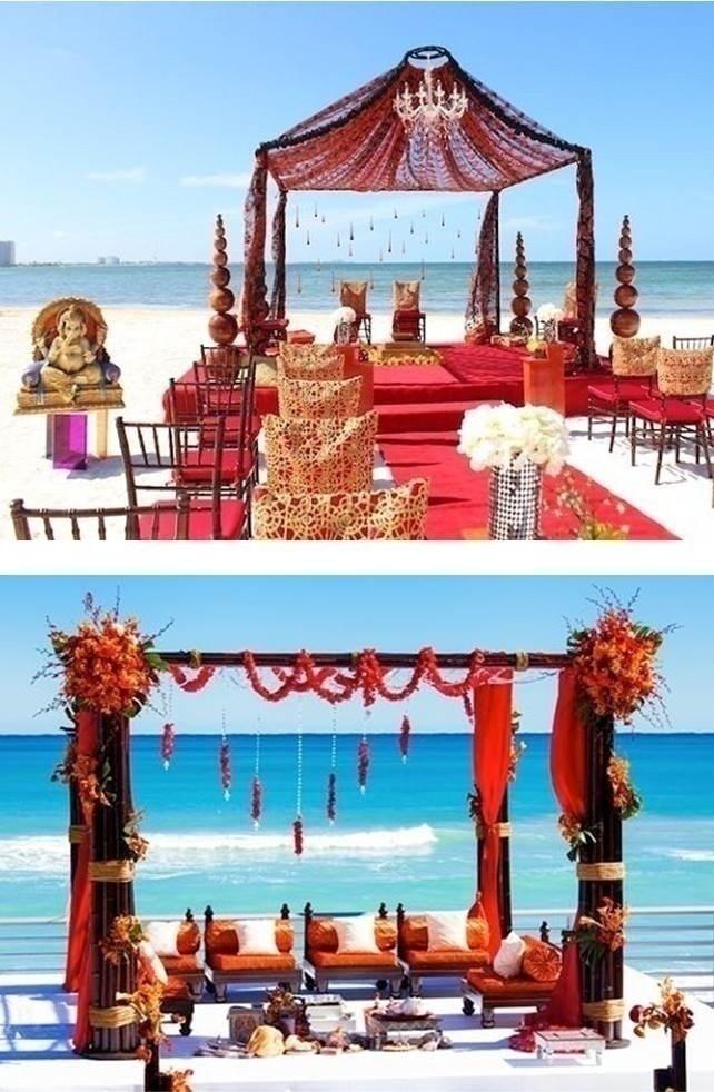 BEACH WEDDING DÉCOR