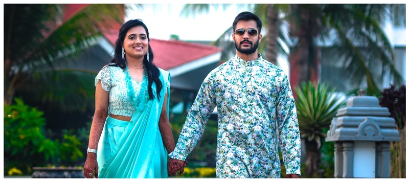Bharat & Shreya Visakhapatnam : Understated decor, classy outfits and a sizzling chemistry- this couple showed us how its done!