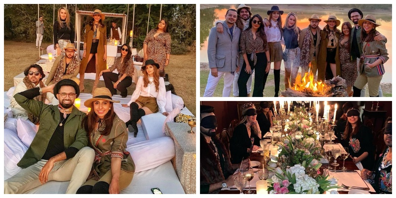 Kaiba Garewal, the co-founder of Outhouse Jewelry took her bride-squad on a royal proposal getaway and you've GOT to check out the pics!