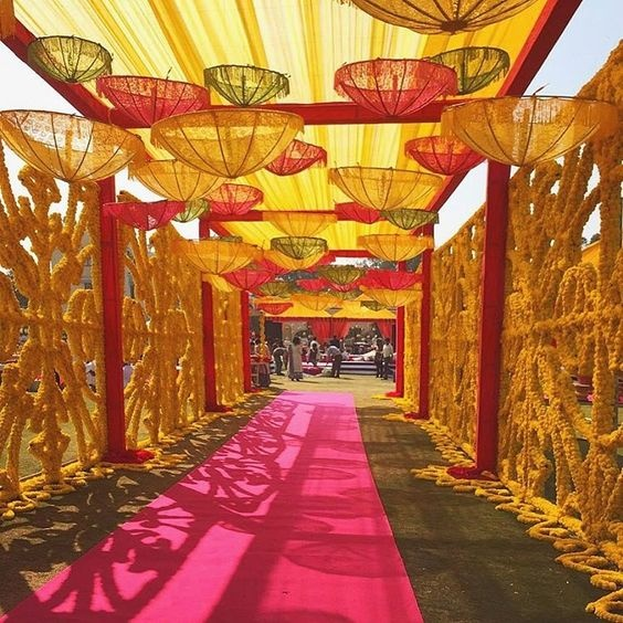 wedding decoration theme 8 cool ways to use umbrellas as decor at your indian 9074