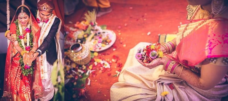 Sharat & Nirosha Mumbai : Traditional South Indian Wedding
