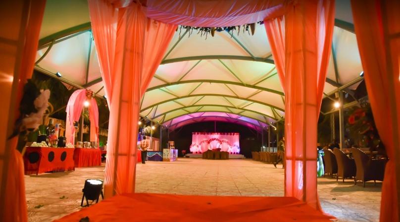 Blue Orchid Chandrasekharpur Bhubaneswar - Banquet Hall
