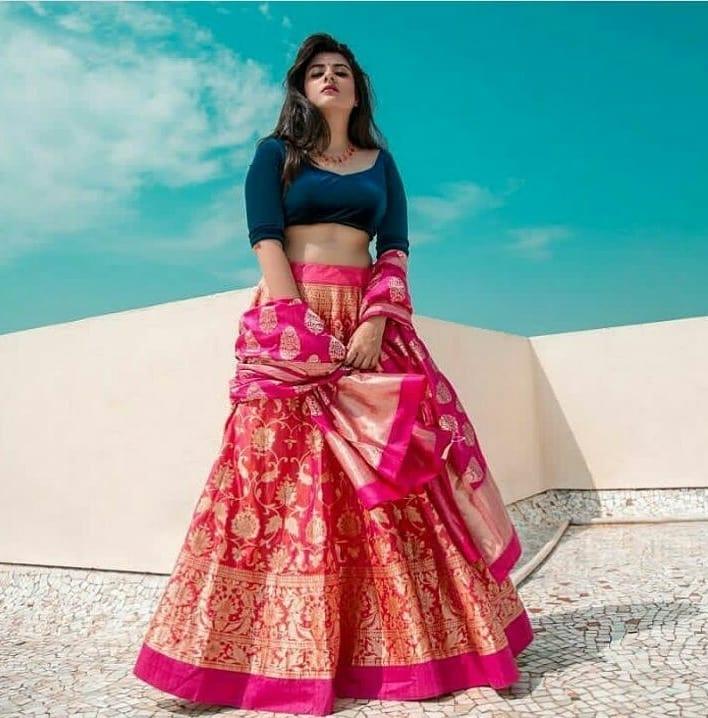 30 Banarasi Lehenga Images Which Will Make You Opt For One This Wedding Season Bridal Wear Wedding Blog