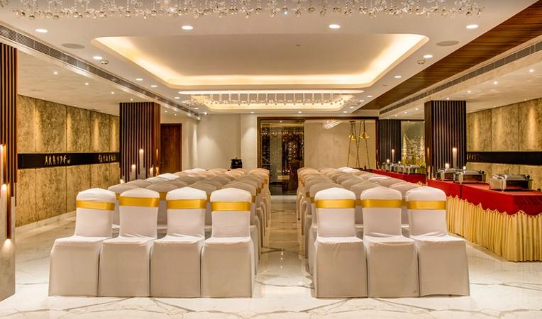 Jalpaan Restaurant and Party Hall Saligramam Chennai - Banquet Hall