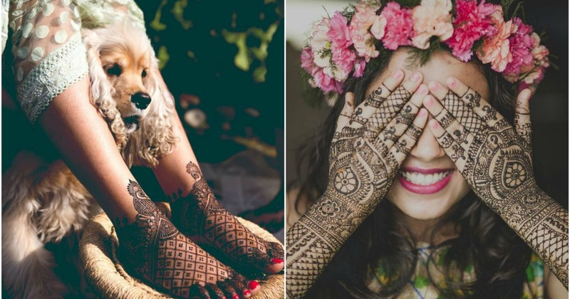 Twenty,Must,Have,Mehendi,Shots,To,Have At,Indian,Wedding , Blog