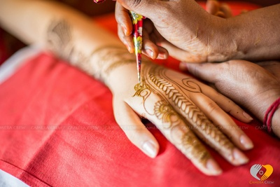Unique mehendi designs