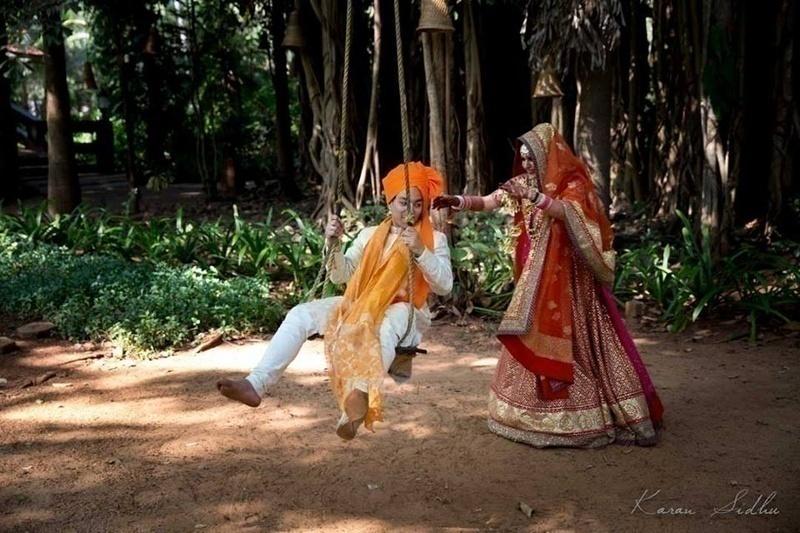 Post Wedding Shoot Happiness