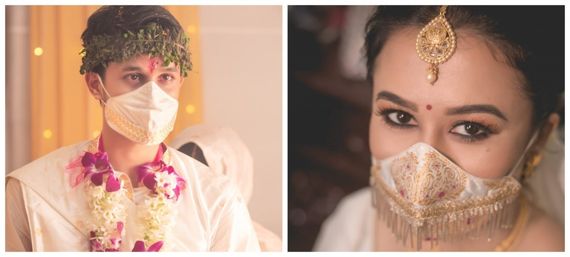 Nirmala and Pratyush's Guwahati Intimate Lockdown Wedding