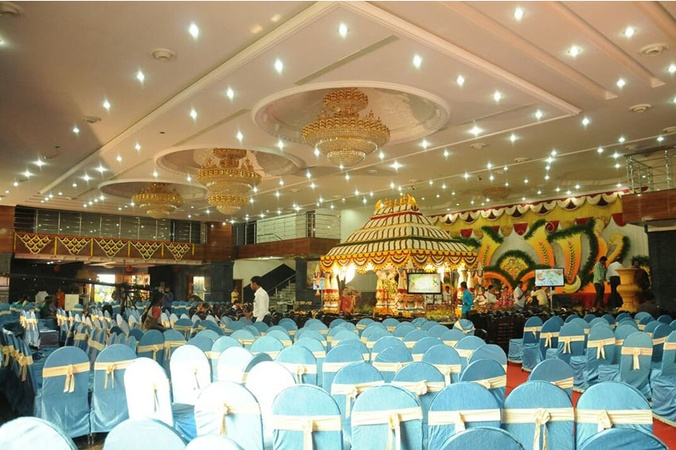 Shamala Siddagangaiah Convention Centre Peenya Bangalore - Banquet Hall