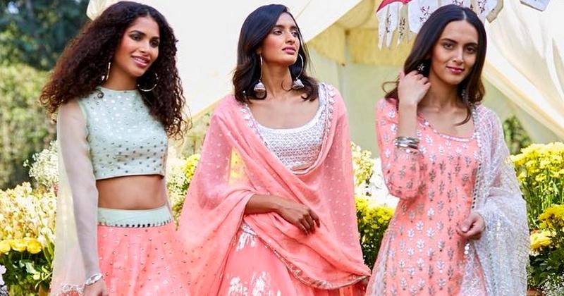 Abhinav Mishra's SS18 collection - Sahiba is pure summer love!