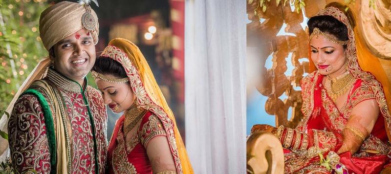 Aarambh & Rashmi Mumbai : A Big Fat Indian Wedding with Stunning Attires and Jewellery
