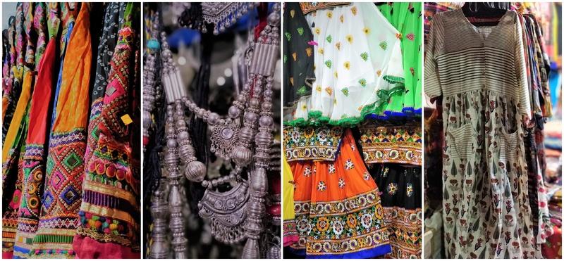 Chaniya Choli Shopping For Navratri At Law Garden Ahmedabad Bridal Wear Wedding Blog