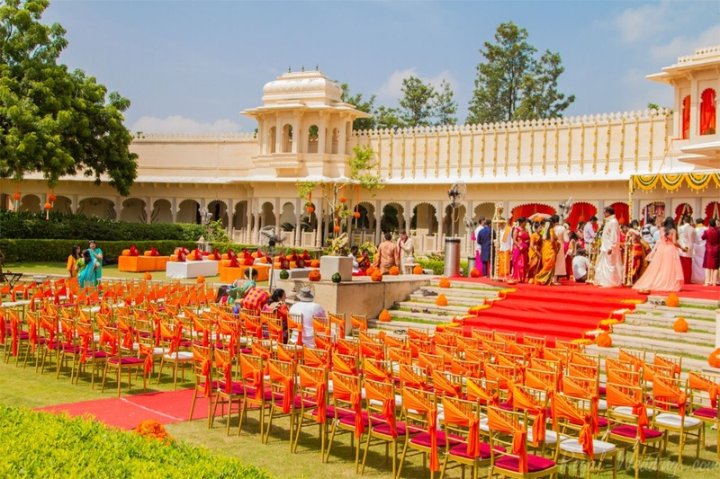 Luxury wedding venues in Chandpole, Udaipur for Lavish Wedding Celebration