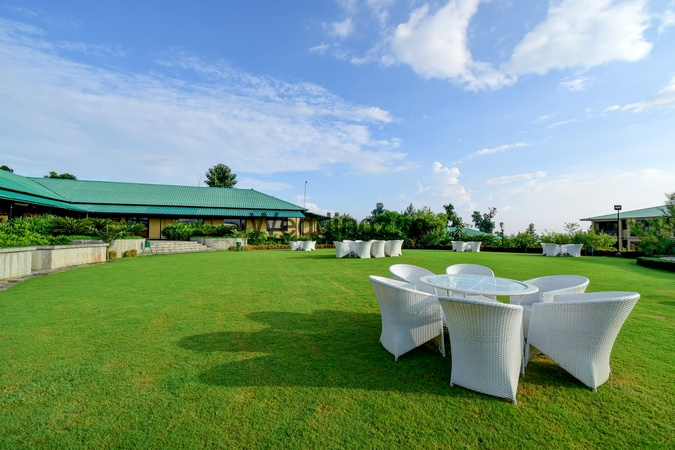 Corbett The Baagh Spa And Resort Ramnagar Jim Corbett - Banquet Hall