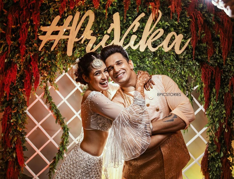 8ec9ac9a44b03 All the Inside Pics   Deets from Prince Narula and Yuvika ...