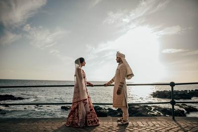Candid couple photography post wedding