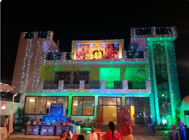 Blue Sky Lawn Rajajipuram Lucknow - Banquet Hall