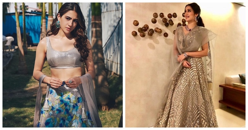 Navratri #Day7 – Grey Outfit Inspiration for Brides & Bridesmaids