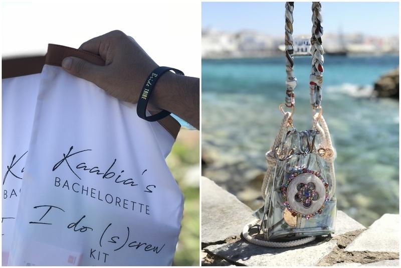 Kaabia's Bachelorette in Mykonos