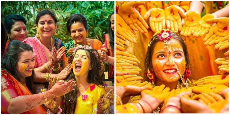 Some crazy, some cute: Haldi pictures you shouldn't miss!