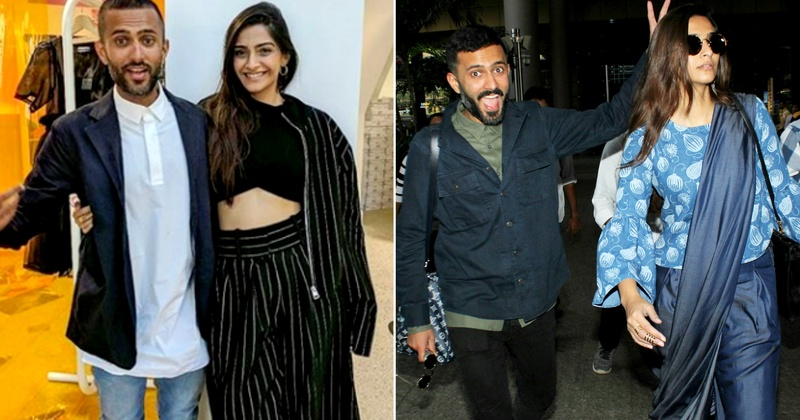 Sonam Kapoor and Anand Ahuja are #CoupleGoals!