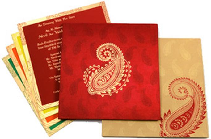 Kashis Wedding Invitation Card in Mumbai