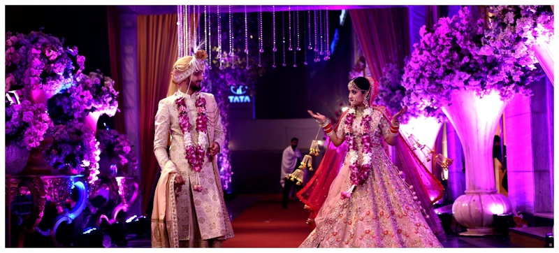Aishwarya and Nikhil Orana Aurum New Delhi Wedding