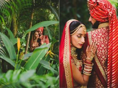 romantic couple photoshoot post the wedding