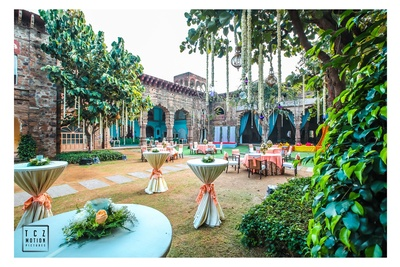 rustic decor ideas for the mehendi ceremony