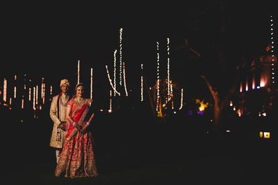 Couple shot by Anuraag Rathi Photography.