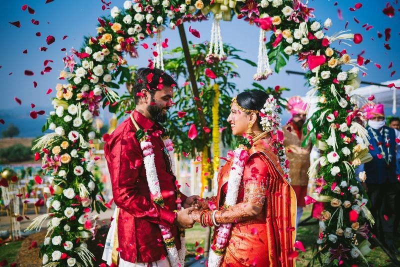 Dreamy Indian Wedding Celebration of Abhishek and Ritu - 8 Years to Forever!
