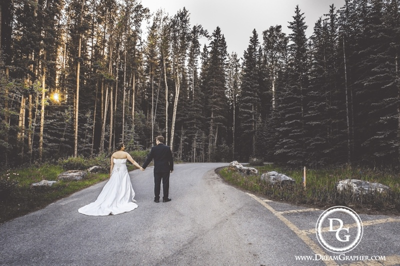 International Love : Magical Christian Wedding held at Alberta, Canada