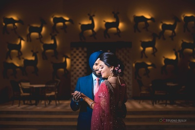 A unique click, an offbeat pose, and a super-romantic couple.