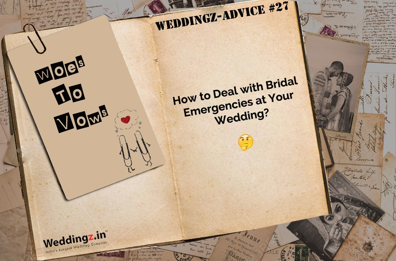 How to Handle Wedding Day Emergencies?