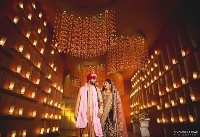 Top 5 trends in indian wedding decoration 2017 blog 3 yellow lighting that creates the perfect ambience for photography junglespirit Image collections