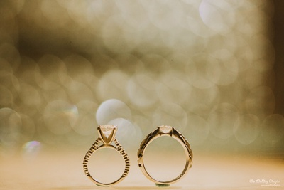Mansi and Prashant giving us engagement ring inspiration