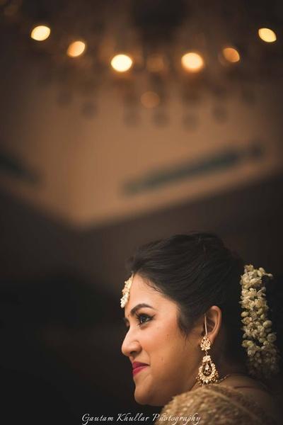 Bridal shot by ace photographer Gautam Khullar.