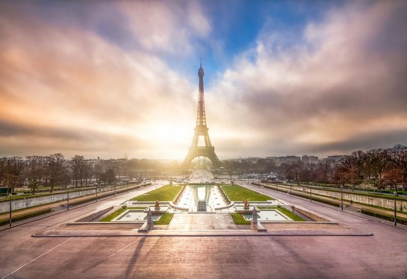 8. The Trocadéro :