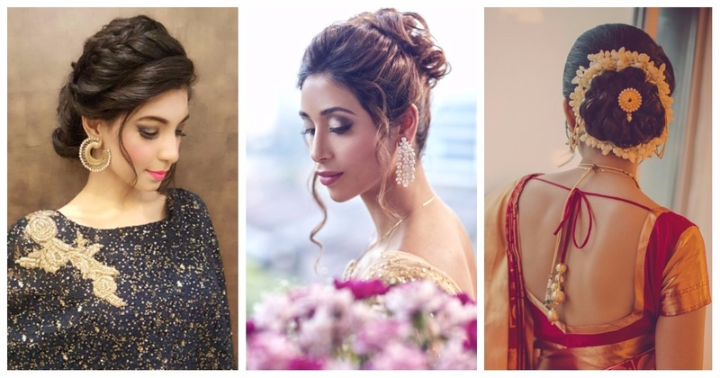 7 Chic and Easy Bun Hairstyles That Are Perfect For Your Sangeet Or Wedding!