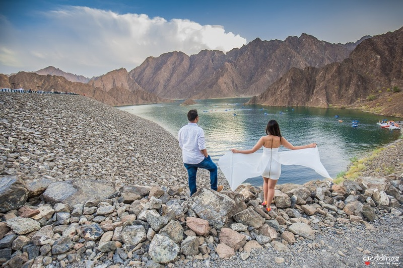 This Stunning Post-Wedding Shoot In Abu-Dhabi Will Make You Wish You Were There!