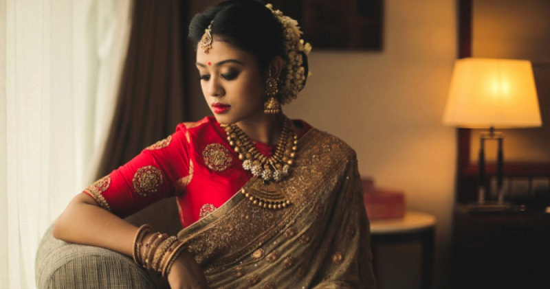 Real Brides who rocked a Saree on their Wedding Day!