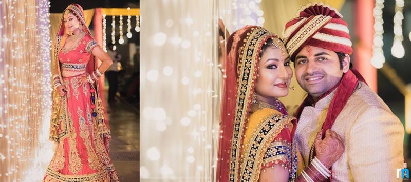 Saurabh &  Ankita  Mumbai : Intimate Wedding Ceremony with Gorgeous Mehndi and DIY Decor