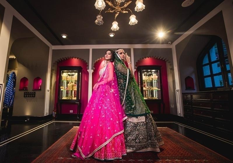 Wedding look 2: