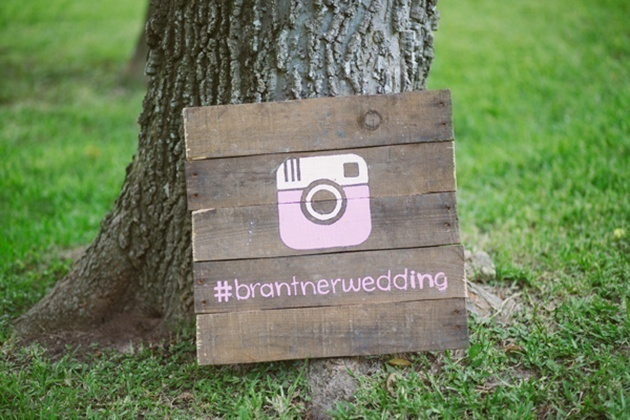 Start Marketing Your Wedding Hashtag on Instagram